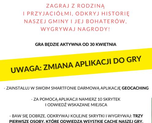 Plakat Gra terenowa